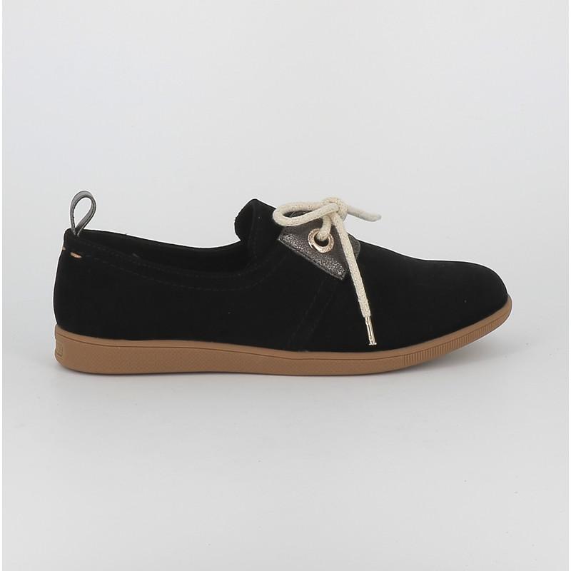 authentique une autre chance collection entière Stone One sparkle Armistice Shoes velours noir