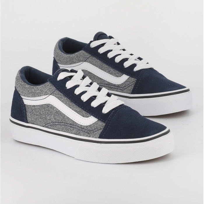 vans old skool grise enfant