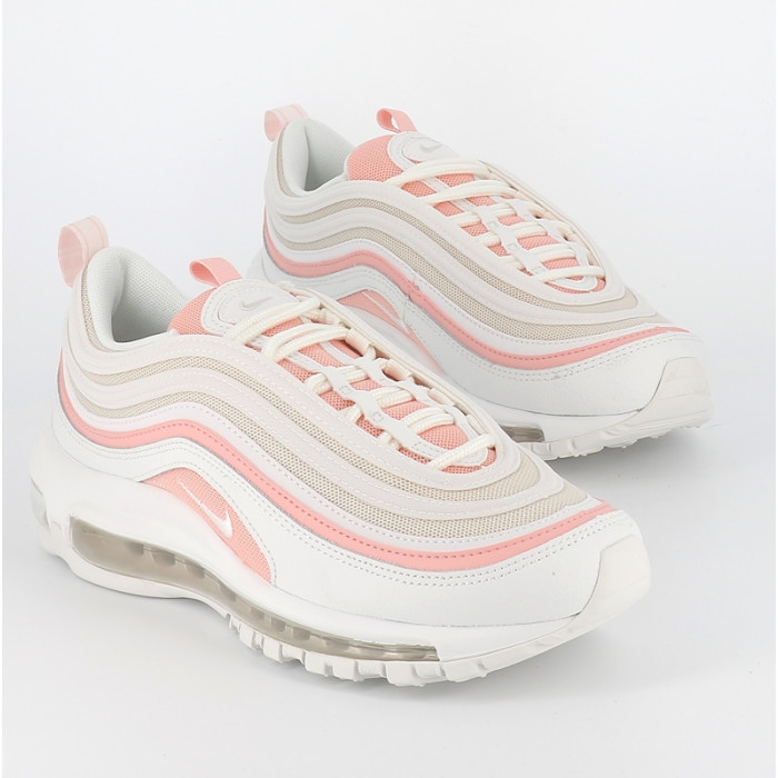nike air max 97 femme blanche et rose