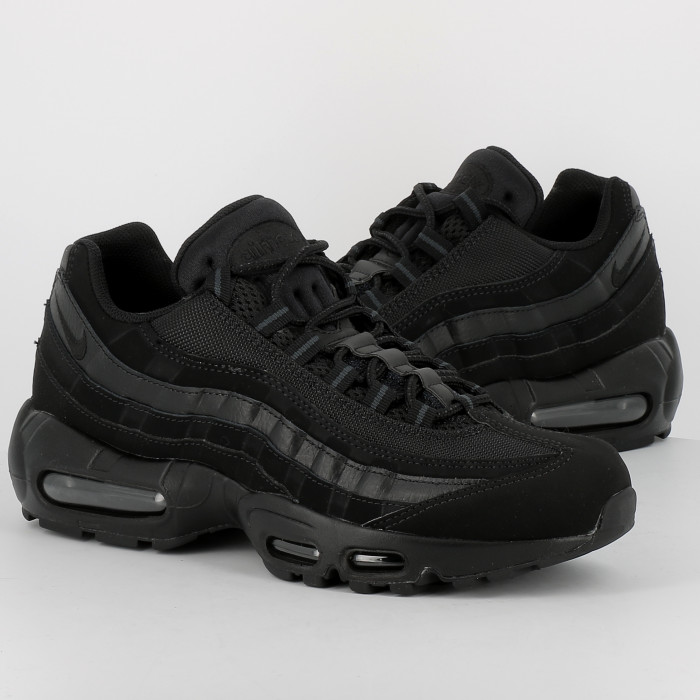 nike AIR MAX 95 ESSENTIAL noirnoirgris anthraciteblanc