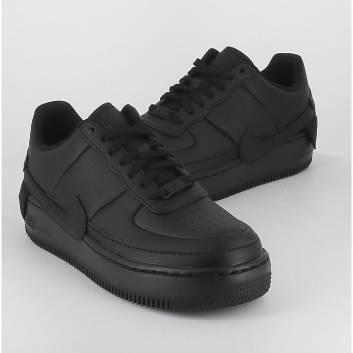 Air force 1 high montante Nike noir full black femme