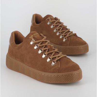 ginger sneaker suede