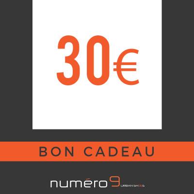 carte cadeaux 30 €