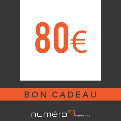 carte cadeaux 80 €