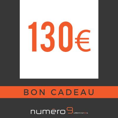 carte cadeaux 130 €