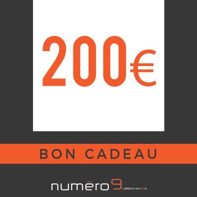 carte cadeaux 200 €