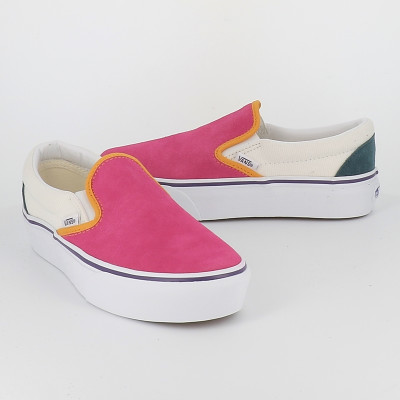 classic slip on platform mini cord