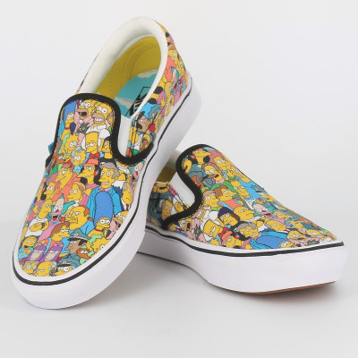 slip on simpsons
