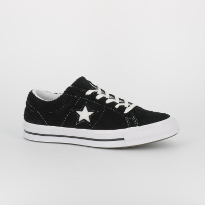 one star ox - nubuck - noir blan