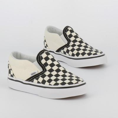 td classic slip-on checkerboard