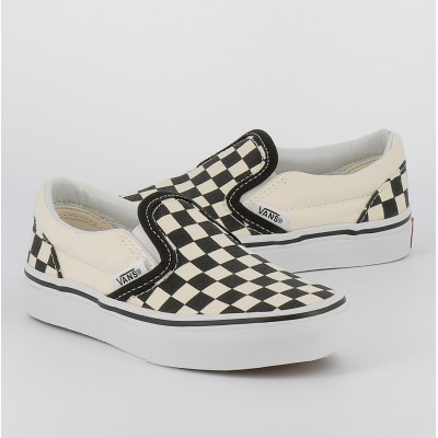 uy classic slip-on checkerboard