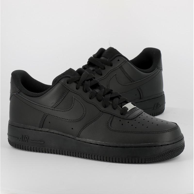 air force 1 noir cuir