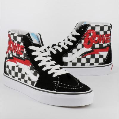 sk8-hi db bowie checkerboard
