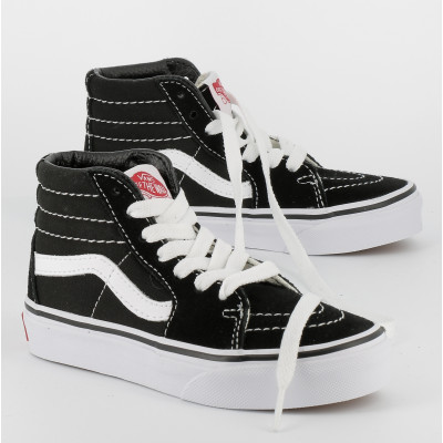 sk8-hi youth - suede toile - noi