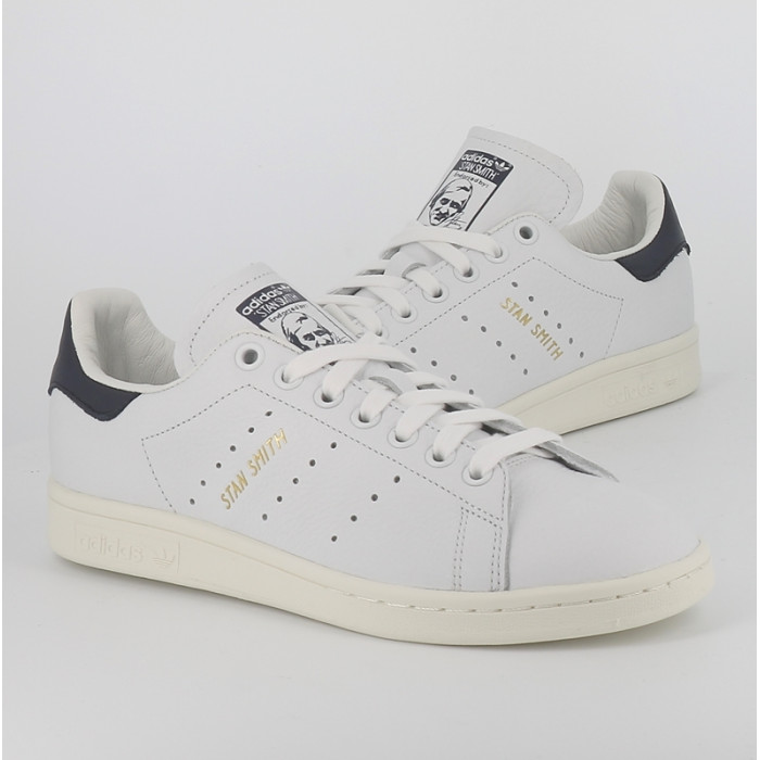 another chance retail prices how to buy Stan Smith Blanc marine encre Adidas femme et homme