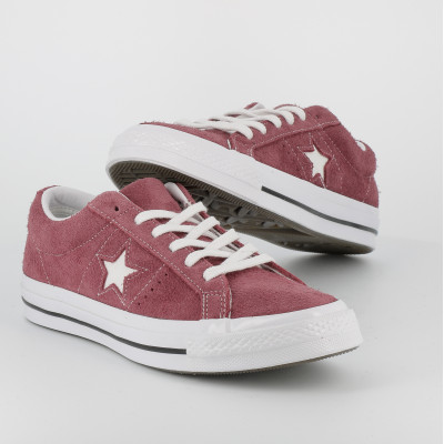 one star ox - nubuck - bordeaux