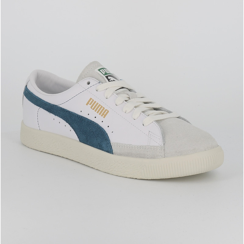 chaussures de sport 55e7e abe27 Blanc Homme 90680 Bleu Basket Vintage Puma deWrCoxB