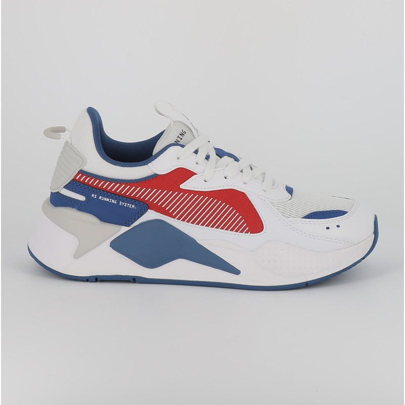 Puma rsx hard drive junior blanc bleu rouge